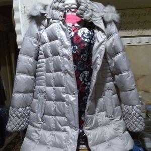 Betsey Johnson puffer jacket.
